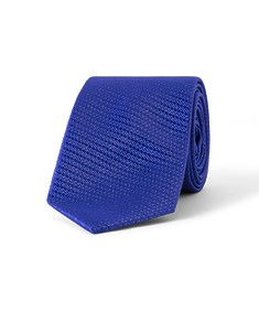 Tie Cobalt Geo Design
