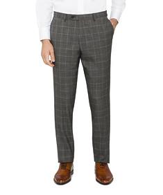 Black Label Super Slim Suit Pants Check