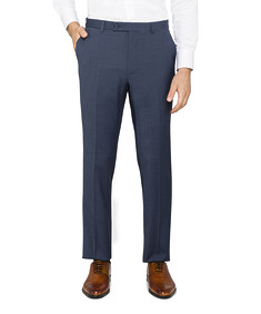 Super Slim Fit Suit Pants Blue