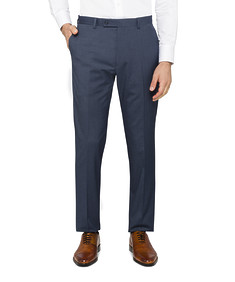 Super Slim Suit Pants Navy Cross Check