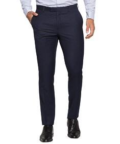 Super Slim Fit Suit Pant Ink Shadow Check