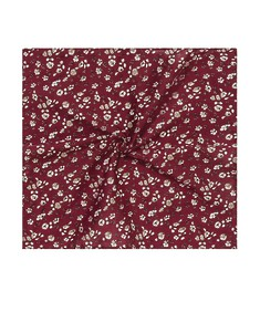 Pocket Square Burgundy Floral