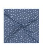Pocket Square Blue Anchors