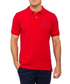 Mens Polo Top with Griffin Embroidery