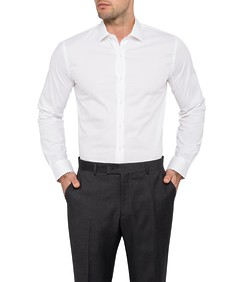 Van Heusen Move Solid Slim Fit Mens Shirt