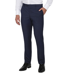 Mens Slim Fit Trousers Ink