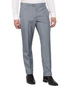Mens Slim Business Trousers Blue