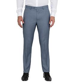 Men's Slim Fit Business Trousers Blue