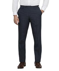 Men's Slim Fit Business Trousers Deep Blue