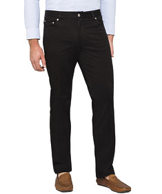 Slim Fit Stretch Chino Black