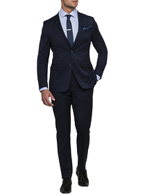 Men's Slim Fit Nested Suit Dark Nailhead