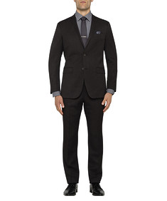 Mens Slim Nested Suit Charcoal