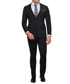 Men's Slim Fit Nested Suit Charcoal