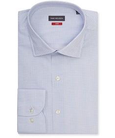 Slim Fit Shirt Blue Surf Geo Print