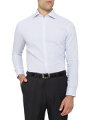 Mens Euro Fit Shirt Oxford Blue
