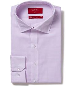 Mens Slim Fit Shirt Pink Multi Stripe