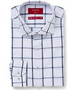 Slim Fit Shirt Navy Wide Check