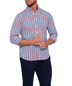 Mens Casual Shirt Multi Check