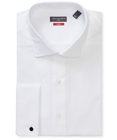 Slim Fit Shirt White French Cuff