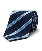 Mens Classic Striped Tie