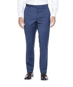 Euro Tailored Fit Business Trouser Ink Nailhead