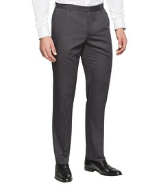 Euro Tailored Fit Business Trousers Nailhead