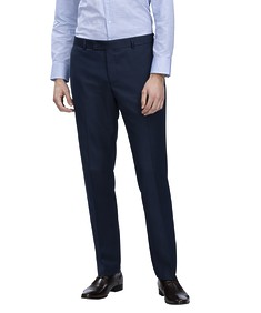 Euro Tailored Fit Business Trousers Textured