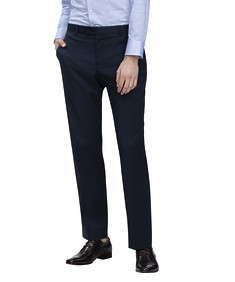 Euro Tailored Fit Business Trouser Mini Check