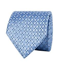 Mens Classic Silk Check Tie