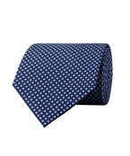 Van Heusen Silk Tie Spotted Diamond Design