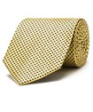 Silk Neck Tie Gold Diamond