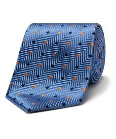 Mens Classic Silk Tie Square Spot