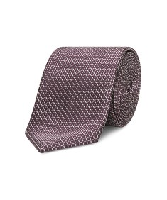 Tie Navy Diamond Check