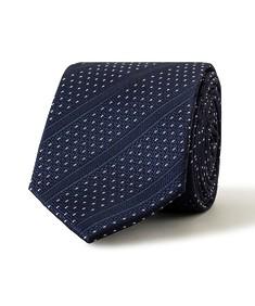 Tie Deep Navy Stripe