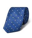 Men's Tie Blue with White Spot