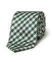 Men's Tie Green Check