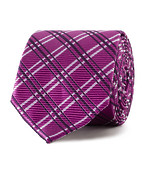 Tie Pink Check Bold