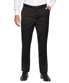 Slim Fit Business Trousers Black Nailhead