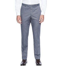 Slim Fit Business Trouser Grey Nailhead