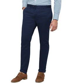 Mens Slim Business Casual Pant