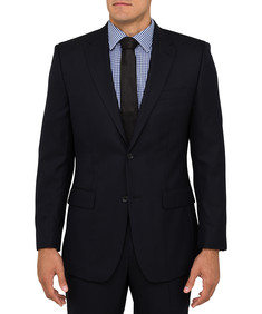 Van Heusen Evercool Euro Fit Navy Suit Jacket