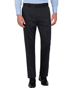 Classic Relaxed Fit Business Trousers Navy