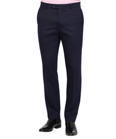 Van Heusen Move Navy Twill Slim Fit Suit Trouser