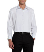 Van Heusen Classic White Tuxedo Shirt
