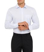 Van Heusen Easy Care Euro Fit Check Blue Mens Shirt