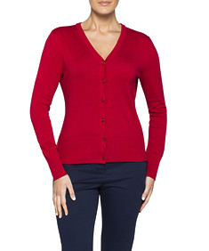Womens V Neck Cardigan