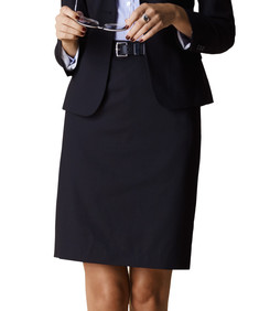 Womens Classic Fit Suit Skirt Performa