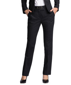Womens Classic Fit Performa Suit Trouser Charcoal