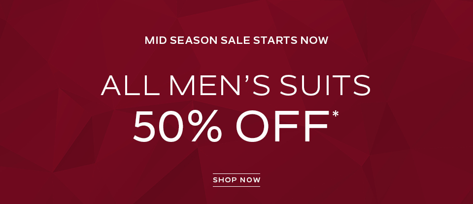 Men\\\\\\\'s Suits 50% off