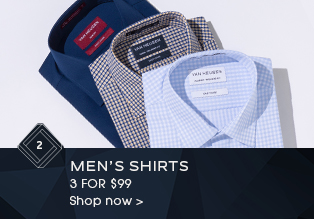 Men's Shirts 3 for $99
